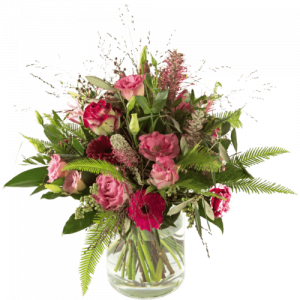 Luxurious sympathy bouquet round
