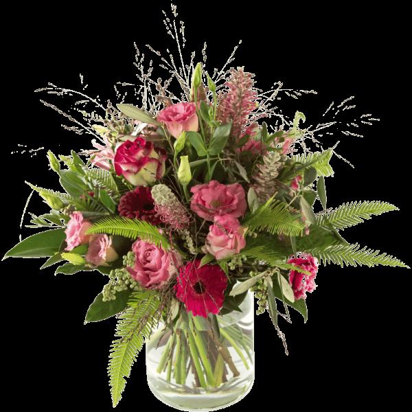 Luxurious sympathy bouquet round