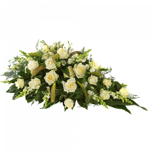 Funeral arrangement Sublime with white fowers