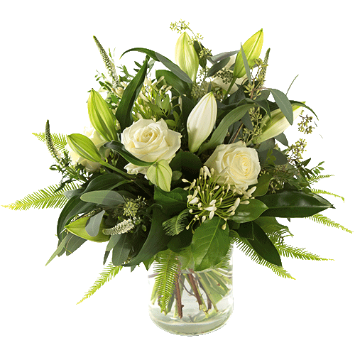 Sympathy bouquet Lily