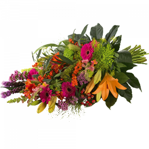 Funeral bouquet - Colourful