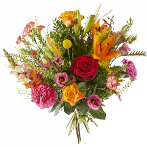 Colourful field bouquet