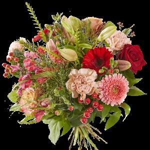 Valentine's Day bouquet happy