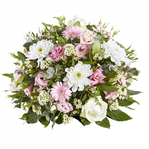 Round funeral arrangement Everlasting