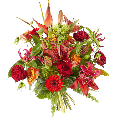 A very luxurious bouquet for a special moment.
