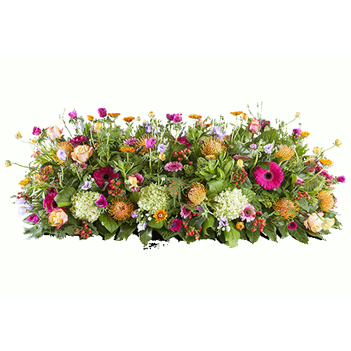 Coffin flowers Beautiful moments