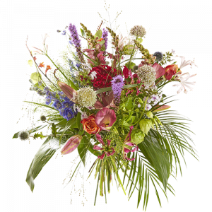 Summer bouquet Summer breeze with beautiful summer flowers
