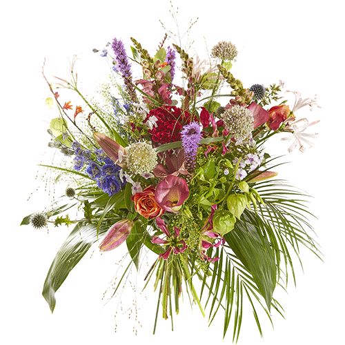 Zomerboeket Zomerbries met mooie seizoensbloemen