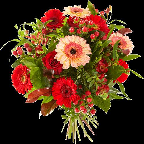 Bouquet winter warmth